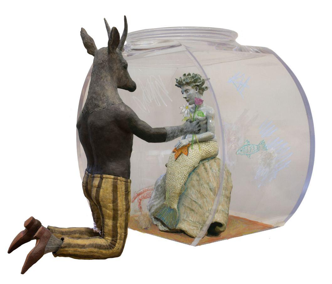 fine-art-sculptures-Kathy-Ruttenberg-Fishbowl